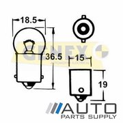 BA15S 12V 10W Bayonet Bulbs (Box of 10)