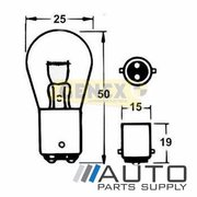 BA15D 12V 21W Bayonet Bulbs (Box of 10)