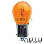 BAU15S 12V 21W Amber 150 Pin Bayonet Bulbs (Box of 10)