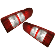 Toyota Hiace Van LH + RH Tail Lights Lamps suit 200 Series 2005-2014 Models *New Pair*