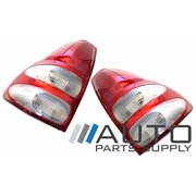 Toyota 120 series Prado Taillights Tail Lights Lamps Red Aftermarket 2002-2009