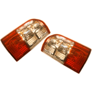 Nissan GU Patrol LH + RH Tail Lights Lamps Series 2 2001-2004 *New Pair*