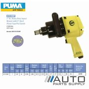 "1"" Drive Heavy Duty Impact Wrench with 2"" Anvil Pistol Type Pin Clutch *Puma® Air Tools*"