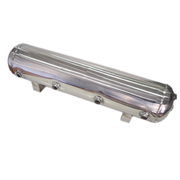 15ltr Stainless Steel Air Tank 9 Port 0-200psi 750x220x180mm