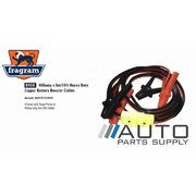 400amp 5m Heavy Duty Copper Battery Jumper Booster Cables *Fragram Brand*