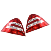 Mercedes C Class LH + RH Tail Lights W203 4 Door sedan 2004-2007 Models *New*