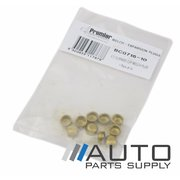 "Pack x10 Brass Cup Welch Plugs 7/16"" *Premier Engine Components Brand*"