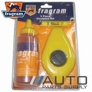 3 Piece Builders / Carpenters Chalk Line Set *Fragram Brand*