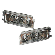 Mitsubishi CE Lancer Sedan LH + RH Pair Headlights 1998-2002 *New*