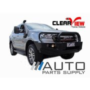 Ford Everest Towing Mirrors Chrome W/ Indicators 2015-Current *Clearview Brand*