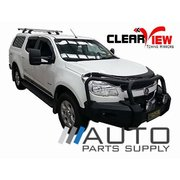 Holden RG Colorado Electric Towing Mirrors Chrome 2012-On *Clearview*