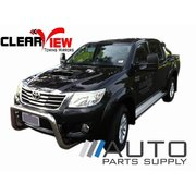 Toyota Hilux Manual Towing Mirrors Black 2005-2015 *Clearview*