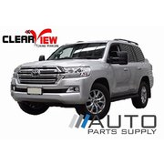 Toyota 200 series Landcruiser Electric Towing Mirrors Black W/ Indicators 2007-Current *Clearview*