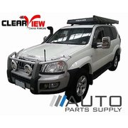 Toyota 120 series Prado Electric Towing Mirrors Chrome 2002-2009 *Clearview*