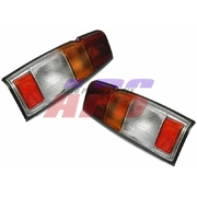 Nissan Navara LH + RH Tail Lights Lamps suit D21 / D22 1992-2001 Models 36cm *New Pair*
