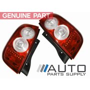 Nissan Micra LH + RH Tail Lights Lamps Suit K12 2007-2010 Models *New Genuine*