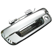 Holden Rodeo Colorado Isuzu D-Max Chrome Tailgate Handle With Key Hole Type *New*