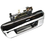 Holden Rodeo Colorado Isuzu D-Max Chrome Tailgate Handle No Key Hole Type *New*