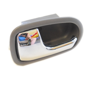Mazda BJ 323 or Ford KN KQ Laser LH Inner Door Handle Grey/Chrome 1998-2003