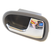 Mazda BJ 323 or Ford KN KQ Laser RH Inner Door Handle Grey/Chrome 1998-2003