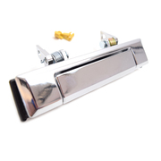 Toyota 75 series Landcruiser Chrome Outer Door Handle Left or Right 1985-1999