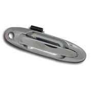 Toyota 100 series Landcruiser RH Front Chrome Outer Door Handle 1998-2007 *New*
