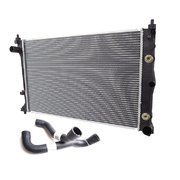 Ford BA Falcon 6cyl Radiator + Top & Bottom Hoses 2002-2005 *New*