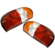 Ford Courier Taillights Tail Lights Lamps Suit PE PG 1999-2004 Models *New Pair*