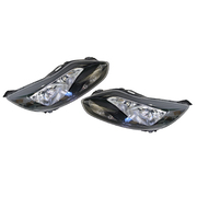 Ford LW Focus Headlights Head Lights Lamps Set Black type 2011-2012 *New*