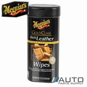 Meguiars Gold Class Rich Leather Wipes - G10900