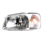 Hyundai Accent LH Headlight Head Light Lamp 2000-2002 *Genuine*