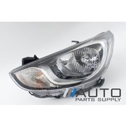 Hyundai RB Accent LH Headlight Head Light Lamp 2011-2013 *New Aftermarket*