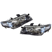 Honda CL Accord Euro Headlight Head Light Lamp Set series 2 2005-2008