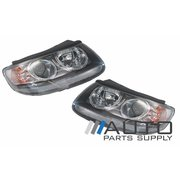 Hyundai Santa Fe Headlights Head Lights Lamps Set CM Series 1 2006-2009 *New*