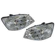 Hyundai Getz Headlights Head Lights Lamps Set 2002-2005 Models *New*