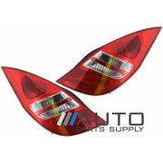 Hyundai i30 LH + RH Tail Lights Lamps suit Hatch FD 2007-2012 *New Pair*