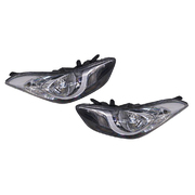 Hyundai MD Elantra Headlights Head Lights Lamps Set Halogen type 2011-2013