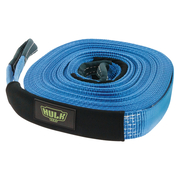 Hulk 4x4 Winch Extension Strap 50mm x 20mm Blue Poly 5000kg