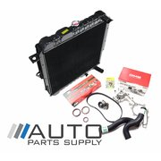 Toyota HZJ75 Landcruiser Radiator Timing Belt Kit Water Pump Hose Kit 1HZ Diesel