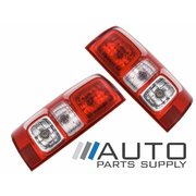 Holden RG Colorado Ute LH+RH Tail Light Standard NO LED Type 2012 On *New Pair*