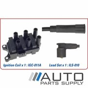 Ford Falcon Ignition Coil & Lead Set AU Series 2 & 3 4ltr 6cyl 2000-2002