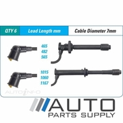 Mazda 626 Ignition Lead Set 2.5ltr KL GE Sedan 1992-1997 *Bougicord*