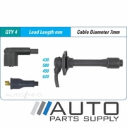 Mazda 626 Ignition Lead Set 2.0ltr FS GE Hatch 1992-1994 *Bougicord*