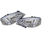Holden TS Astra Headlights Head Lights Lamps Chrome Type Suit 1998-2006 Models