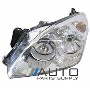 Holden AH Astra LH Headlight Head Light Lamp Chrome Type 2004-2009 *New*