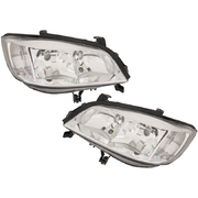 Holden Zafira LH + RH Headlights Head Lights Head Lamps 2001-2005 *Pair*
