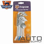 9 Piece Tamper Proof Torx Key Set T10-T50 Sizes *Fragram Brand*