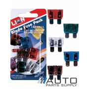 5 Piece Universal Blade Fuse Pack 7.5-30amp *Lion Products*