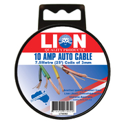 Auto Wiring Cable - 10 Amp 7.5m x 3mm *Variety Of Colours