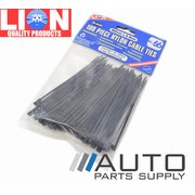 100 Piece Nylon Cable Zip Ties 102mm x 2.4mm *Lion Products*